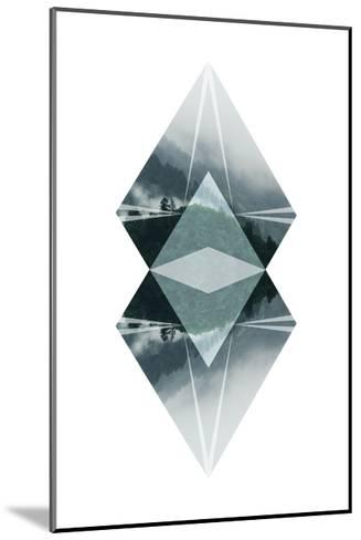 Diagonal Horizons 2-Port 106 Project-Mounted Premium Giclee Print