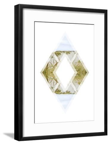 Diagonal Horizons 4-Port 106 Project-Framed Art Print