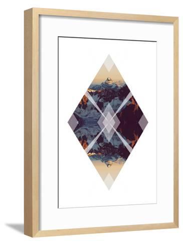 Diagonal Horizons 3-Port 106 Project-Framed Art Print