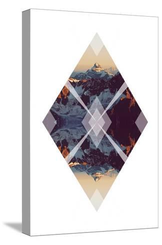 Diagonal Horizons 3-Port 106 Project-Stretched Canvas Print