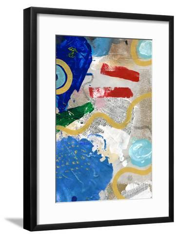 Palette 3-The Surface Project-Framed Art Print