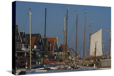 Harbour View, Volendam-Natalie Tepper-Stretched Canvas Print