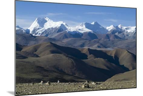 View of Himalaya Range (The World's Tallest Mountains), Tibet, China-Natalie Tepper-Mounted Photo
