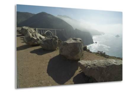 Pacific Coastline at Bixby Bridge, Near Big Sur, California, Usa-Natalie Tepper-Metal Print