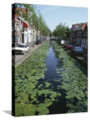 Canal, Delft-Natalie Tepper-Stretched Canvas Print