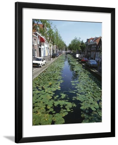 Canal, Delft-Natalie Tepper-Framed Art Print