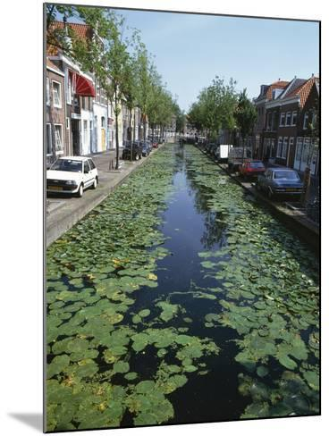 Canal, Delft-Natalie Tepper-Mounted Photo