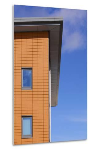 High Section of Yate West Gate Health Centre, South Gloucestershire, UK-Craig Auckland-Metal Print