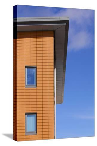 High Section of Yate West Gate Health Centre, South Gloucestershire, UK-Craig Auckland-Stretched Canvas Print