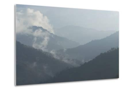 View of the Valley from Hacienda El Caney (Plantation) in the Coffee-Growing Region Colombia-Natalie Tepper-Metal Print