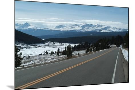 Tennessee Pass, a Mountain Road That Crosses the Continental Divide, Colorado, Usa-Natalie Tepper-Mounted Photo