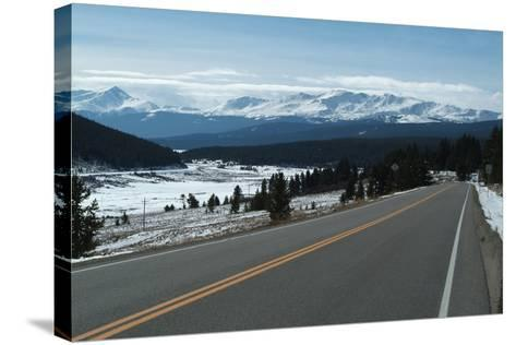 Tennessee Pass, a Mountain Road That Crosses the Continental Divide, Colorado, Usa-Natalie Tepper-Stretched Canvas Print
