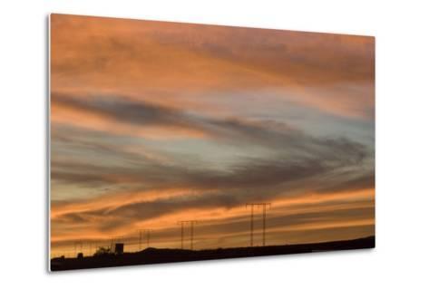 Sunset, Los Angeles to Las Vegas Freeway-Natalie Tepper-Metal Print