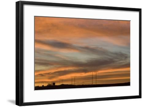 Sunset, Los Angeles to Las Vegas Freeway-Natalie Tepper-Framed Art Print