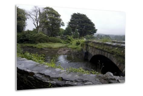 Bridge and Church Near the Sea, Near Schull, County Cork, Ireland-Natalie Tepper-Metal Print