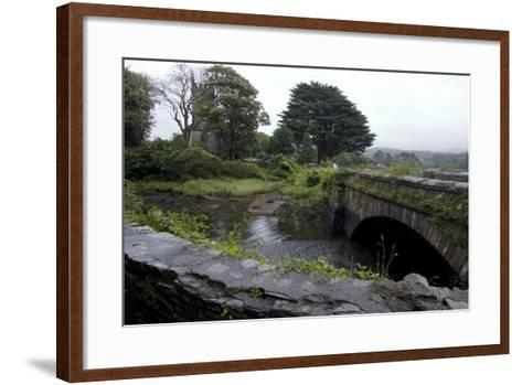 Bridge and Church Near the Sea, Near Schull, County Cork, Ireland-Natalie Tepper-Framed Art Print