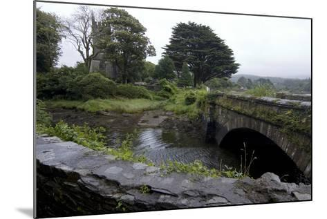 Bridge and Church Near the Sea, Near Schull, County Cork, Ireland-Natalie Tepper-Mounted Photo