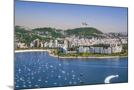 Brazil,Rio De Janeiro. Rio De Janeiro City Viewed from Sugar Loaf Mountain-Nigel Pavitt-Mounted Photographic Print