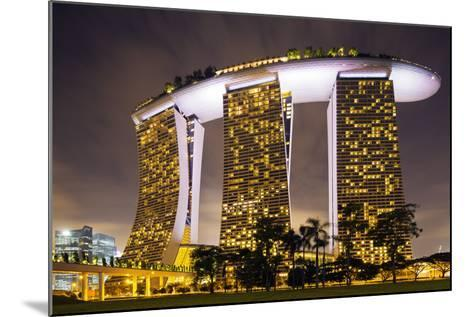 South East Asia, Singapore, South East Asia, Singapore, Marina Bay Sands-Christian Kober-Mounted Photographic Print