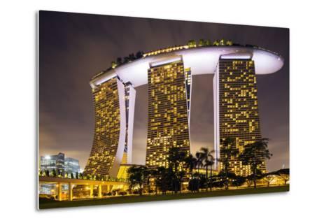 South East Asia, Singapore, South East Asia, Singapore, Marina Bay Sands-Christian Kober-Metal Print