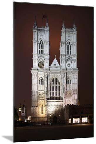 Westminster Abbey in the City of Westminster, London, England-David Bank-Mounted Photographic Print