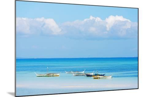 South East Asia, Philippines, the Visayas, Cebu, Bantayan Island, Paradise Beach-Christian Kober-Mounted Photographic Print