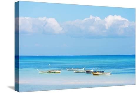 South East Asia, Philippines, the Visayas, Cebu, Bantayan Island, Paradise Beach-Christian Kober-Stretched Canvas Print