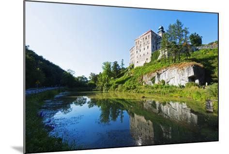 Europe, Poland, Malopolska, Ojcow National Park, Pieskowa Skala Castle-Christian Kober-Mounted Photographic Print