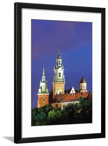 Europe, Poland, Malopolska, Krakow, Wawel Hill Castle and Cathedral, UNESCO Site-Christian Kober-Framed Art Print