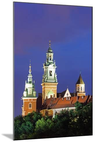 Europe, Poland, Malopolska, Krakow, Wawel Hill Castle and Cathedral, UNESCO Site-Christian Kober-Mounted Photographic Print