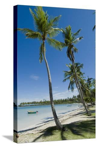 Casa Marina Bay Beach, Las Galeras, Dominican Republic-Natalie Tepper-Stretched Canvas Print