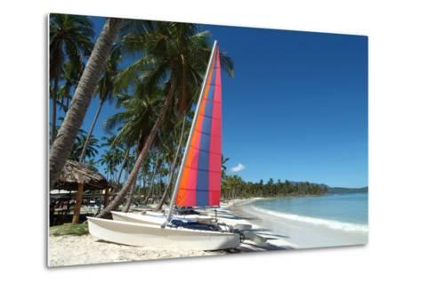 The Beach at Casa Marina Bay, Las Galleras, Samana, Dominican Republic-Natalie Tepper-Metal Print