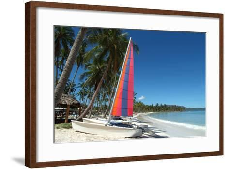 The Beach at Casa Marina Bay, Las Galleras, Samana, Dominican Republic-Natalie Tepper-Framed Art Print