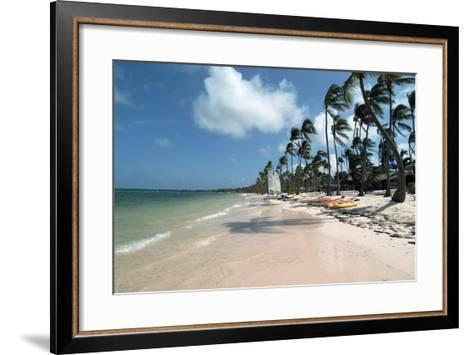 Beach at Barcelo Palace, Bavaro, Dominican Republic-Natalie Tepper-Framed Art Print