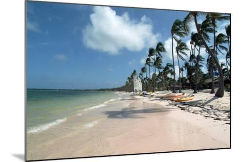 Beach at Barcelo Palace, Bavaro, Dominican Republic-Natalie Tepper-Mounted Photo