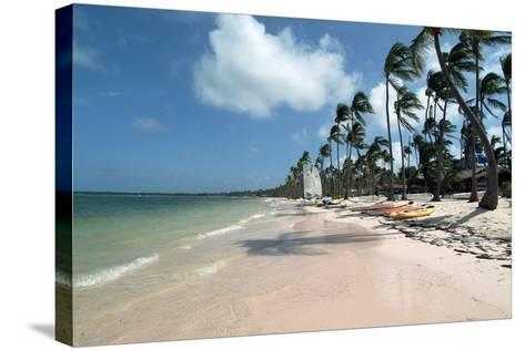 Beach at Barcelo Palace, Bavaro, Dominican Republic-Natalie Tepper-Stretched Canvas Print