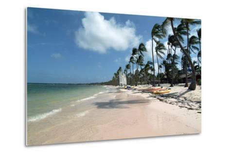Beach at Barcelo Palace, Bavaro, Dominican Republic-Natalie Tepper-Metal Print