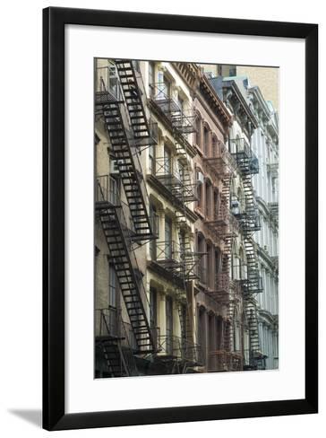 Fire Escapes, Tribeca, New York City, Ny, Usa-Natalie Tepper-Framed Art Print
