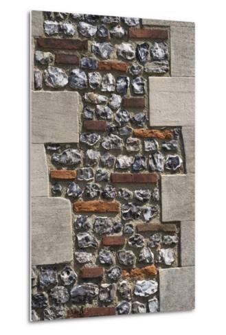 Roman Flint and Tile Wall-Natalie Tepper-Metal Print