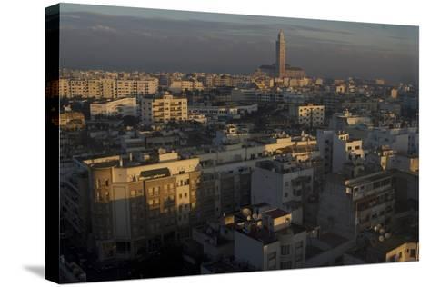 Dawn View over Casablanca, Morocco-Natalie Tepper-Stretched Canvas Print