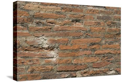Roman Brick and Tile Wall-Natalie Tepper-Stretched Canvas Print