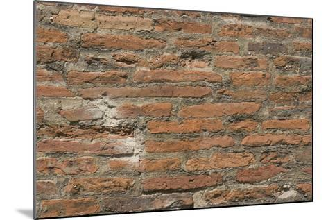 Roman Brick and Tile Wall-Natalie Tepper-Mounted Photo