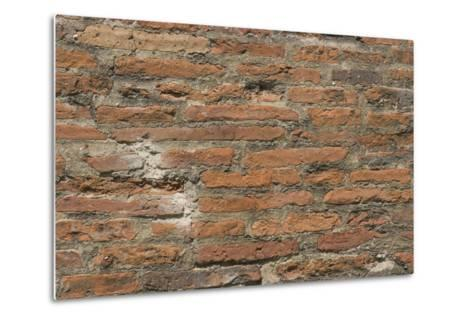 Roman Brick and Tile Wall-Natalie Tepper-Metal Print
