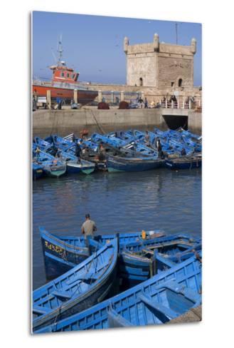 Port and Nearby, Essaouira, Morocco-Natalie Tepper-Metal Print