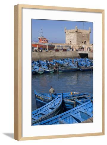 Port and Nearby, Essaouira, Morocco-Natalie Tepper-Framed Art Print