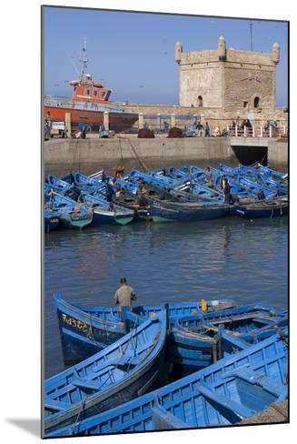 Port and Nearby, Essaouira, Morocco-Natalie Tepper-Mounted Photo