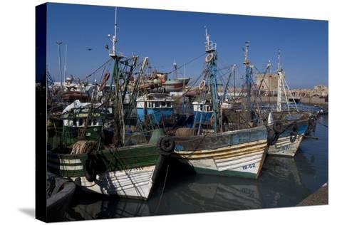 Port and Nearby, Essaouira, Morocco-Natalie Tepper-Stretched Canvas Print