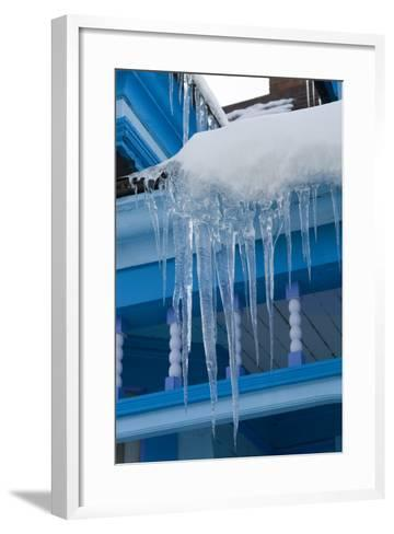 Icicles on Roof-Natalie Tepper-Framed Art Print