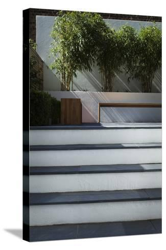 From Basement Level-Pedro Silmon-Stretched Canvas Print
