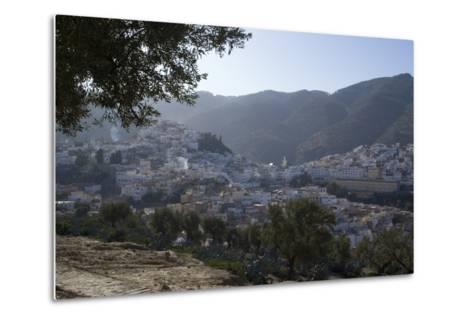Town View, Moulay Idriss, Morocco-Natalie Tepper-Metal Print